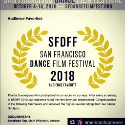 American Tap wins the AUDIENCE AWARD in San Francisco!
