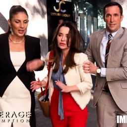 Nunzi is French -  LEVERAGE: REDEMPTION on Amazon and IMDbTV now